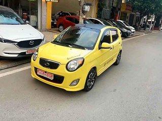 Bán lại xe Kia Morning đời 2010, màu vàng, nhập khẩu nguyên chiếc số tự động, giá 225tr