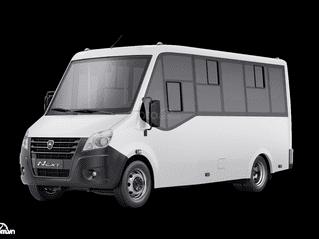 Xe khách Citiline GAZ 19 chỗ sản xuất tại Nga
