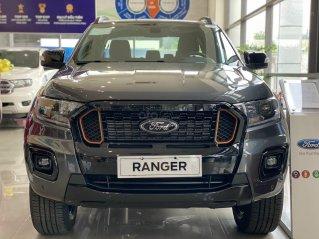 Ford Ranger Wildtrak màu xám 2021 - giảm 65 triệu giao ngay