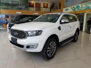 Ford Everest Titanium 2.0L AT 4WD model 2021, tổng giảm 100 triệu đồng khi mua xe, xe đủ màu giao ngay