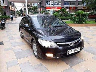 Bán xe Honda Civic 2007, màu đen còn mới, 238tr