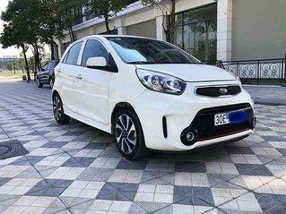 Cần bán lại xe Kia Morning sản xuất năm 2017, màu trắng