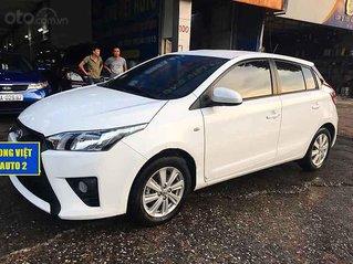 Bán xe Toyota Yaris sản xuất 2014, màu trắng, nhập khẩu nguyên chiếc