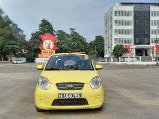 Xe Kia Morning đời 2012, màu vàng