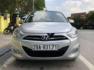 Bán Hyundai Grand i10 2013, màu bạc, nhập khẩu nguyên chiếc như mới