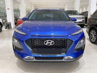 Bán xe Hyundai Kona sản xuất 2019, màu xanh lam, giá 645tr