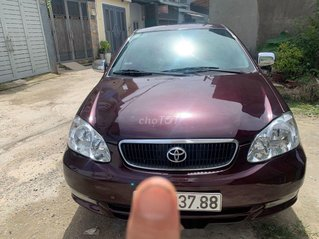Cần bán lại xe Toyota Corolla Altis sản xuất 2002, màu đỏ