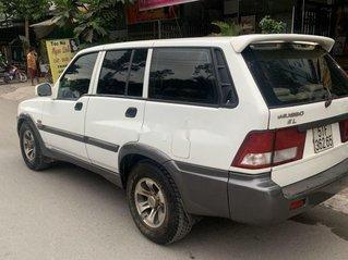 Cần bán Ssangyong Musso 2001, màu trắng, xe nhập chính chủ, giá chỉ 128 triệu