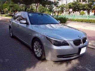 Cần bán gấp BMW 5 Series 530i 2007, màu bạc