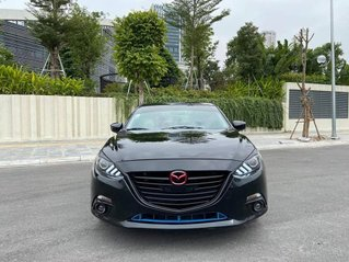 Mazda 3 Sedan 1.5AT sản xuất 2015 màu đen, nội thất đen