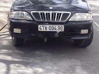 Bán xe Ssangyong Musso sản xuất 2002, màu đen, nhập khẩu, giá chỉ 75 triệu
