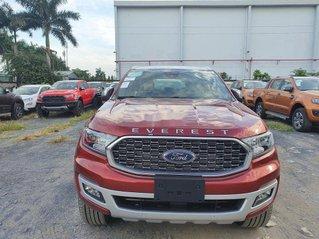 Bán ô tô Ford Everest đời 2021, màu đỏ, xe nhập