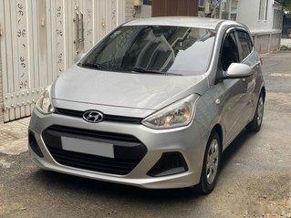 Bán ô tô Hyundai Grand i10 năm 2018, màu bạc còn mới, giá tốt