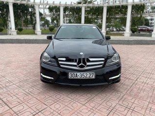 Cần bán lại xe Mercedes C300 AMG năm sản xuất 2011, màu đen