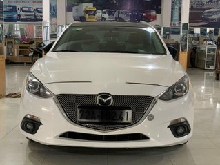 Cần bán lại xe Mazda 3 năm sản xuất 2015, màu trắng, nhập khẩu nguyên chiếc
