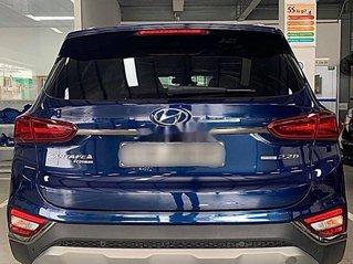 Bán xe Hyundai Santa Fe đời 2020, màu xanh lam, giá 932tr