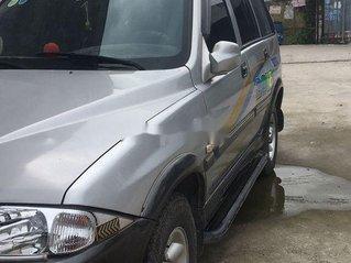 Xe Ssangyong Musso sản xuất 2004, màu bạc, xe nhập chính chủ