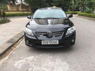 Cần bán gấp Toyota Corolla 2010, màu đen, xe nhập chính chủ, giá tốt