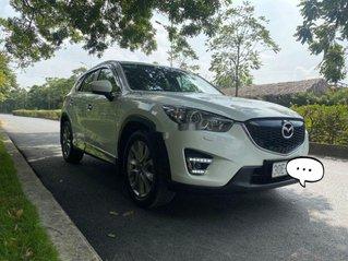Cần bán gấp Mazda CX 5 năm sản xuất 2013, màu trắng, 525tr