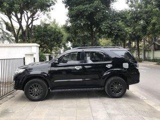 Bán Toyota Fortuner đời 2016, màu đen, giá chỉ 678 triệu