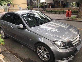 Xe Mercedes C class sản xuất 2013, màu xám còn mới, giá chỉ 596 triệu
