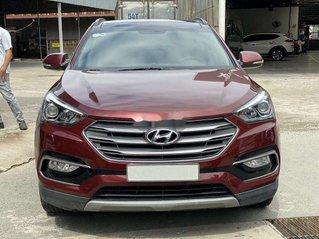 Bán xe Hyundai Santa Fe năm sản xuất 2018, màu đỏ, giá chỉ 986 triệu