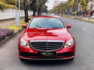 Bán Mercedes C200 Exclusive đỏ, sản xuất 2019, giá cả uy tín