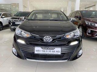 Bán xe Toyota Vios 1.5G 2018 màu đen, trả góp chỉ từ 176 triệu
