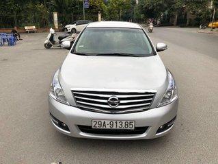 Xe Nissan Teana sản xuất năm 2009, màu bạc, nhập khẩu nguyên chiếc chính chủ, giá 399tr