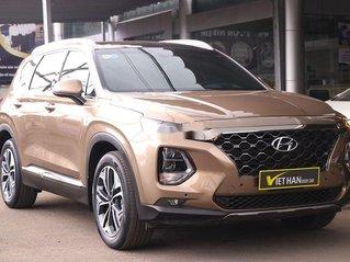 Cần bán lại xe Hyundai Santa Fe năm sản xuất 2020, màu nâu