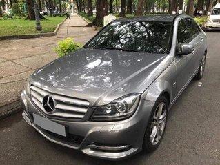 Bán lại xe Mercedes C200 sản xuất 2013, màu xám, giá 596tr