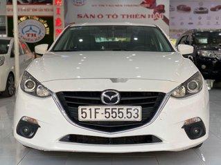 Bán xe Mazda 3 sản xuất năm 2015, màu trắng còn mới, giá tốt