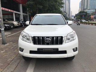 Bán Prado 2013 nhập khẩu full - màu trắng nội thất đen