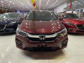 Honda City 1.5CVT 2018, đỏ mận, số tự động