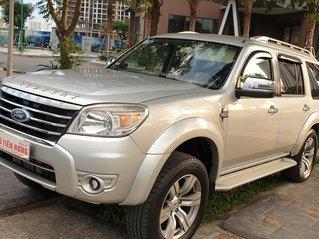 Bán Ford Everest Limited máy dầu 2.5 số tự động đời cuối 2011 màu bạc mới 70%