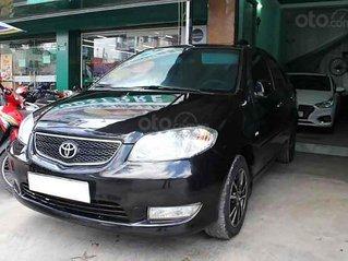 Cần bán lại xe Toyota Vios sản xuất năm 2005, màu đen số sàn