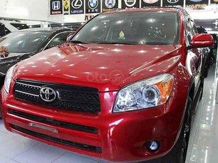 Bán xe Toyota RAV4 2007, màu đỏ, nhập khẩu nguyên chiếc