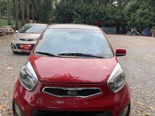 Cần bán xe Kia Morning sản xuất 2014 đỏ, máy số zin