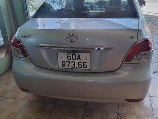 Bán ô tô Toyota Vios bản E đời 2008, màu bạc, giá tốt