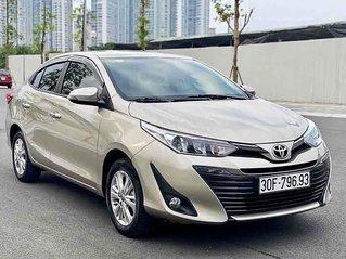 Bán xe Toyota Vios năm sản xuất 2019, màu vàng cát