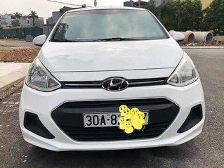 Cần bán xe Hyundai Grand i10 2015, màu trắng, xe nhập chính chủ