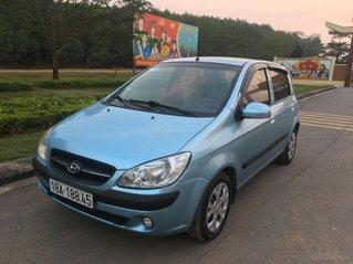 Cần bán gấp Hyundai Getz năm 2009, màu xanh lam còn mới giá chỉ 135 triệu đồng