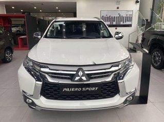 Bán Mitsubishi Pajero Sport 2019, màu trắng, nhập khẩu nguyên chiếc