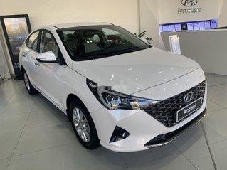 Bán ô tô Hyundai Accent đời 2021, màu trắng, 520tr