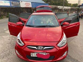 Bán Hyundai Accent đời 2013, màu đỏ, xe nhập