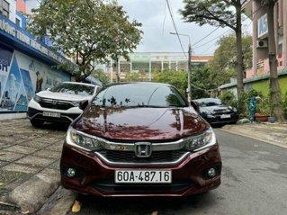 Bán xe Honda City 1.5 CVT sản xuất 2018, màu đỏ, 485 triệu