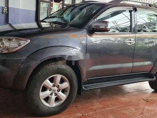 Cần bán gấp Toyota Fortuner đời 2009, màu xám còn mới, giá tốt