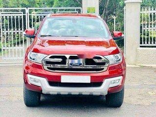 Bán Ford Everest sản xuất 2016, màu đỏ, nhập khẩu nguyên chiếc số tự động