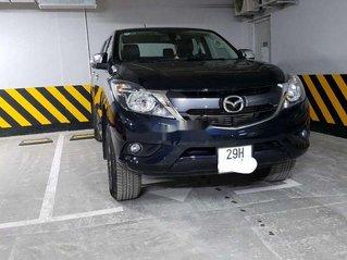 Xe Mazda BT 50 2018, màu xanh lam, xe nhập xe gia đình