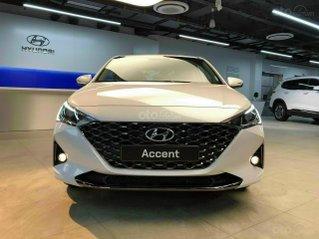 [Hyundai Long Biên] Accent 2021 - giao xe trong tháng 12 - hỗ trợ vay 90% Chỉ 130TR nhận xe - tặng nhiều phụ kiện